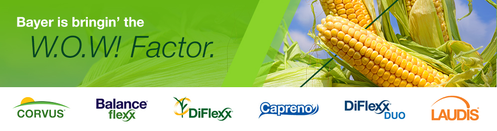 Bayer is bringing the W.O.W! Factor with Corn Herbicides