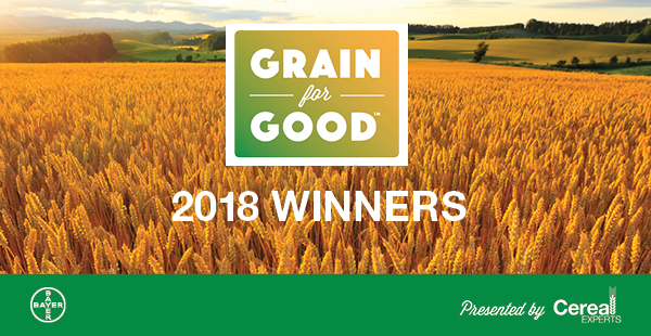Grain for Good - Announcing the Winners