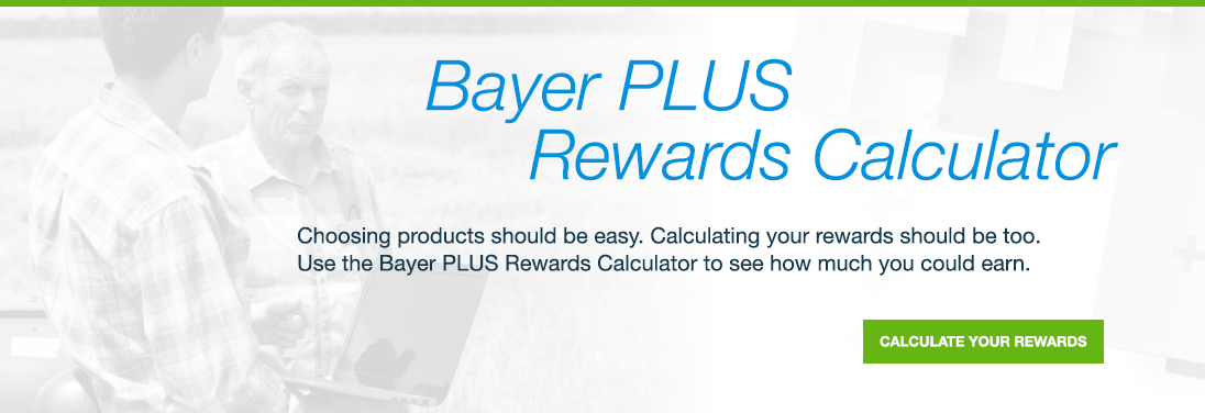 Bayer Plus rewards calculator