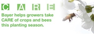 Bayer helps growers CARE for crops and bees
