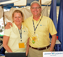 Chuck and Cindy Zimmerman, fouders of ZimmComm New Media