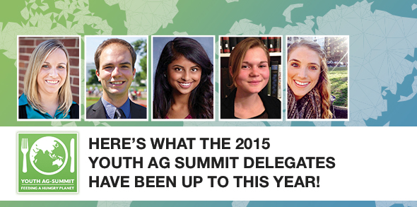 Here's What The 2015 Youth Ag Summit Delegates Are Up To