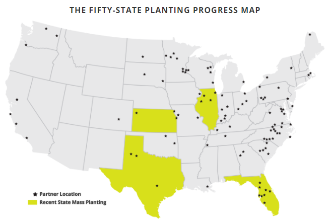 The Fifty-State Planting Progress Map