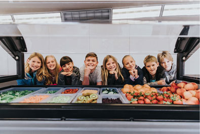 Salad Bars to Schools initiative
