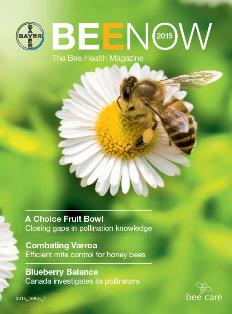 Bayer CropScience BEENOW magazine bee pollinator health
