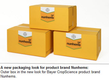 A new packaging look for product brand Nunhems: Outer box in the new look for Bayer CropScience product brand Nunhems.