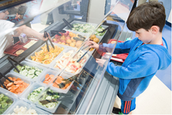 Sunnyslope Elementary School opens new salad bar for students