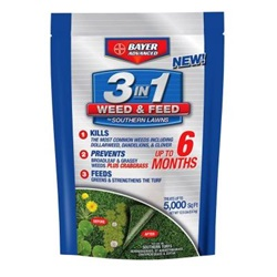 3-In-1 Weed & Feed Fof Southern Lawns