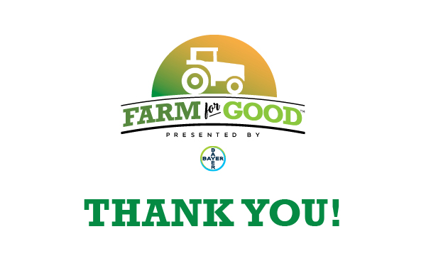 Farm for Good Thank You