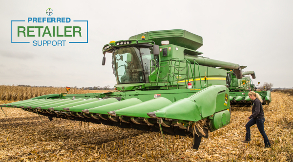 green combine wideshot preferred retailer support