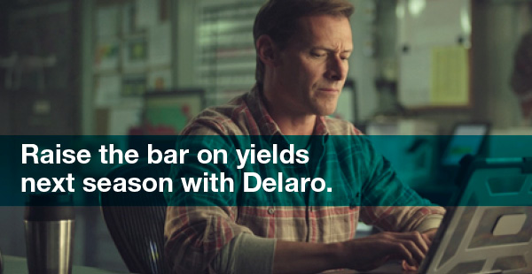 raise the bar on yields next season with Delaro grower researching online