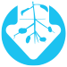 low tree vigor blue icon