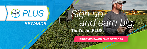 Discover Bayer PLUS rewards banner