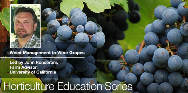 Weed Management in Wine Grapes