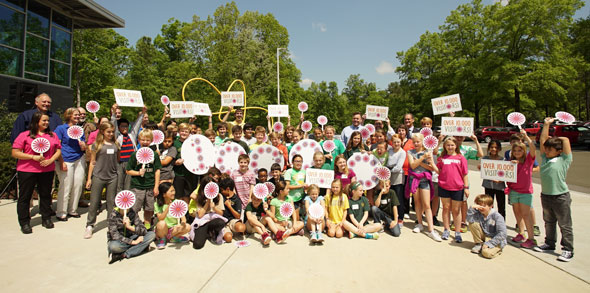 The Bayer Bee Care Center Honors 10,000 Visitor Milestone