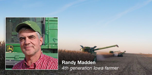 Randy Madden - 4th generation Iowa Farmer