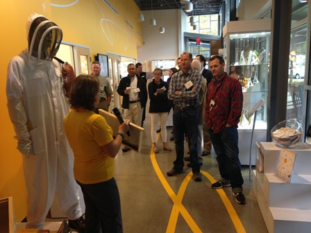Pollinator health and horticulture groups tour Bayer CropScience North American Bee Care Center