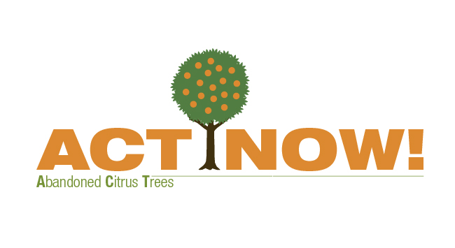 Abandoned Citrus Tree (ACT) removal program logo