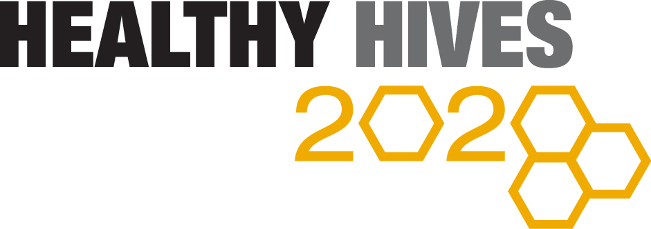 Bayer Healthy Hives 2020 initiative logo