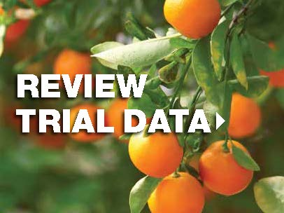 View trial data for citrus crops